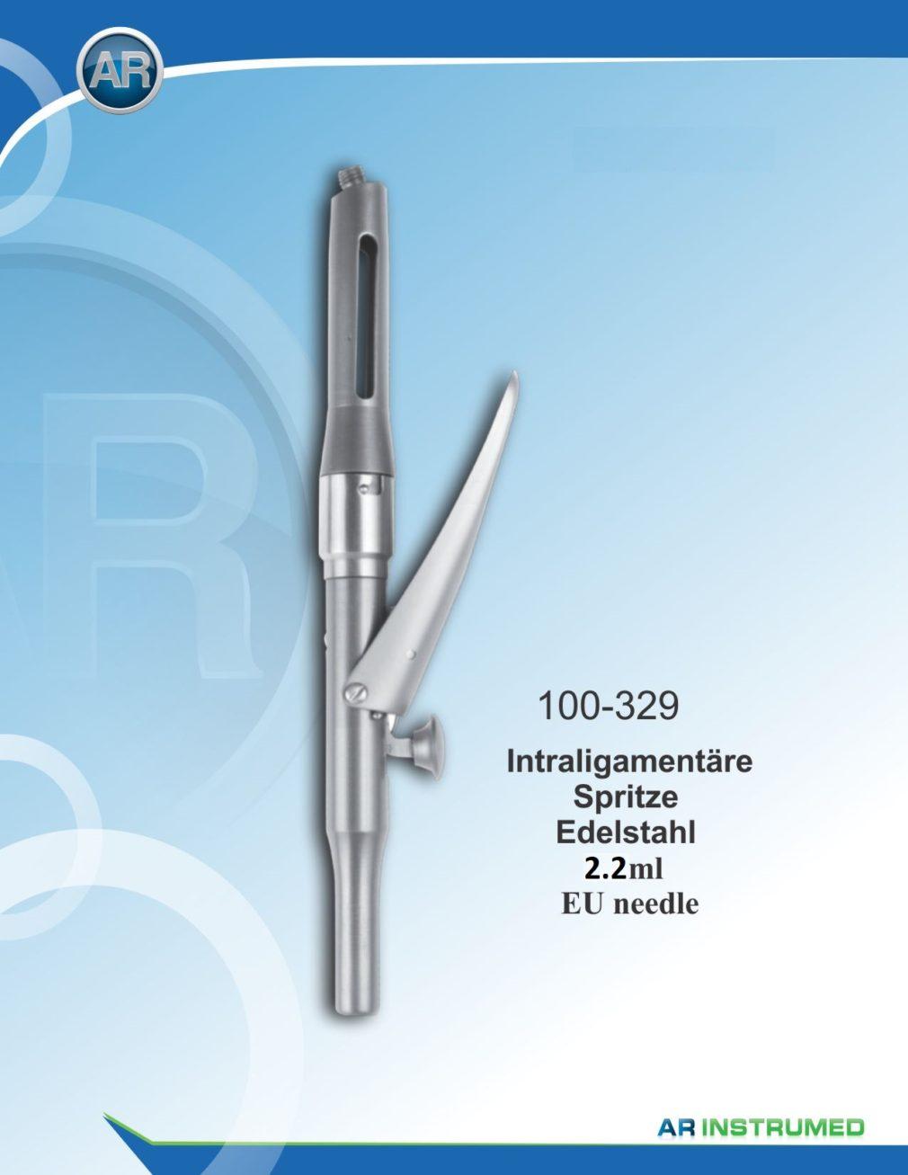 Dental Citoject Intraligamentary Syringe 2.2ml