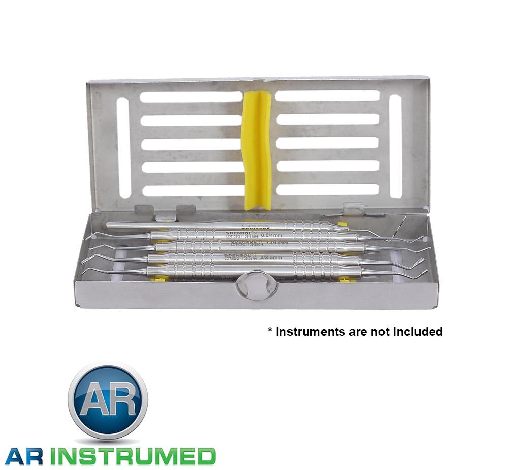 Dental Sterilizing  Cassettes Small 5 Pcs Tray