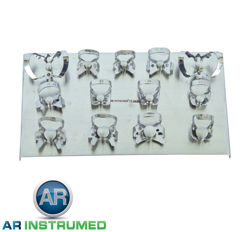 Rubber Dam Clamps Set of 13